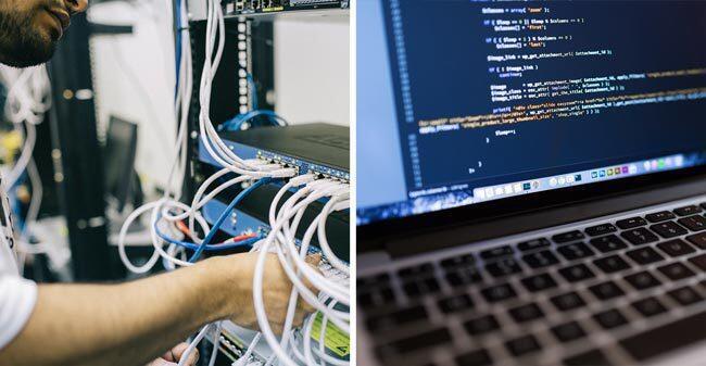suporte técnico de TI remoto